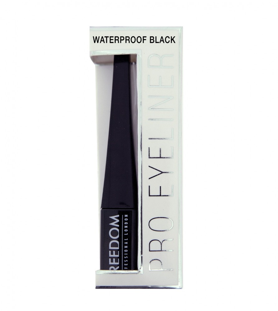 Freedom Makeup vodoodporni tuš - Pro Line Waterproof Black