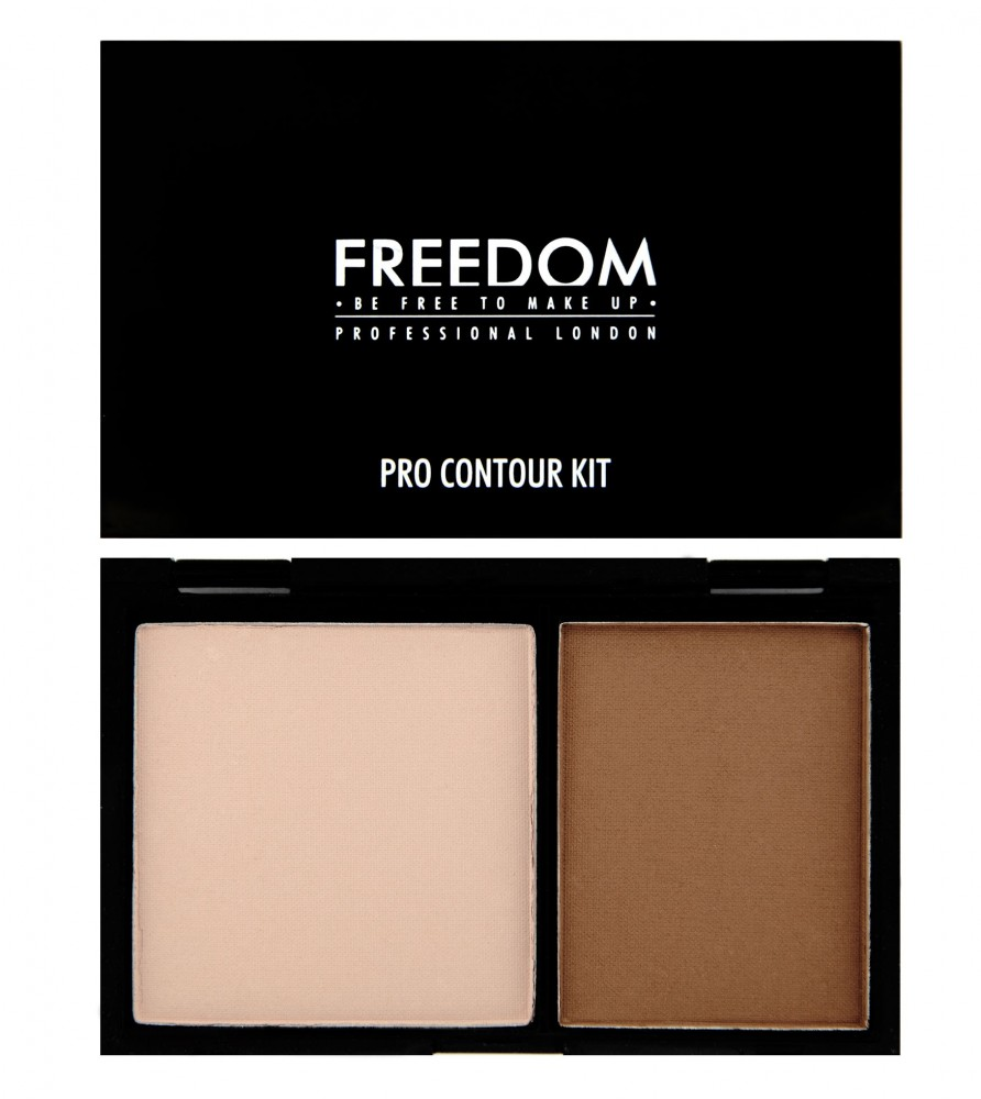 Freedom Makeup contour paleta - Pro Contour Medium 01