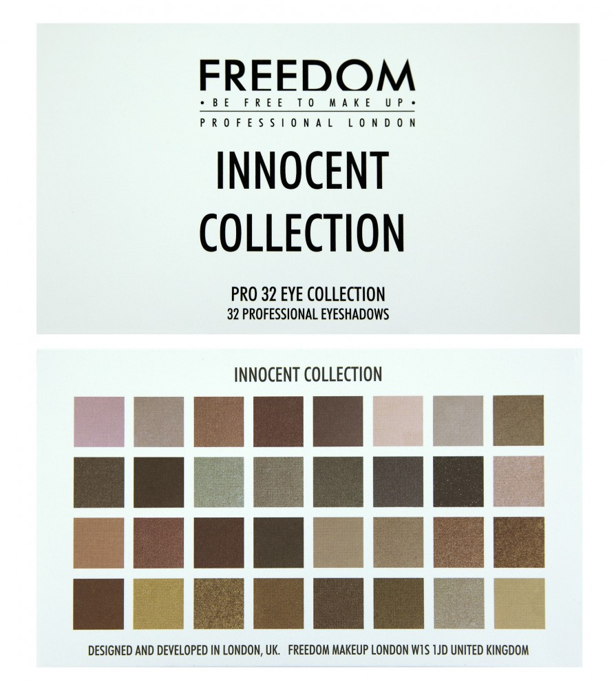 Freedom Makeup palette di 32 ombretti - Pro 32 Innocent Collection