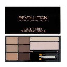 Makeup Revolution paleta za obrvi - Ultra Brow Palette - Fair to Medium