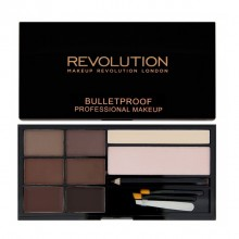Makeup Revolution paleta za obrvi - Ultra Brow Palette - Medium to Dark