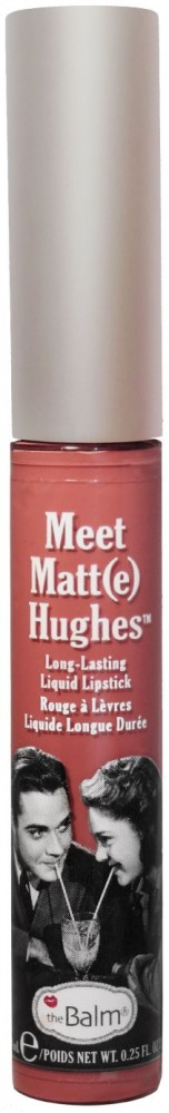 The Balm matter Flüssig-Lippenstift - Meet Matt(e) Hughes - Commited (nude)