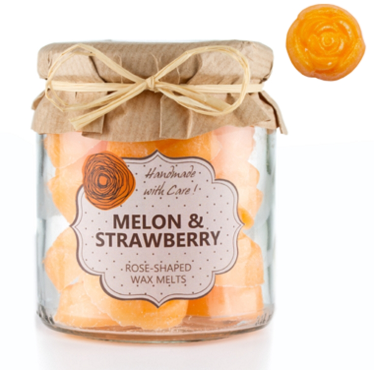Own Candles set 18-ih dišečih voskov za izparilnik - Melon & Strawberry