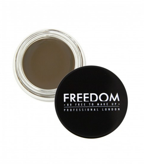 Freedom Pro Brow Pommade gel per le sopracciglia - Medium Brown