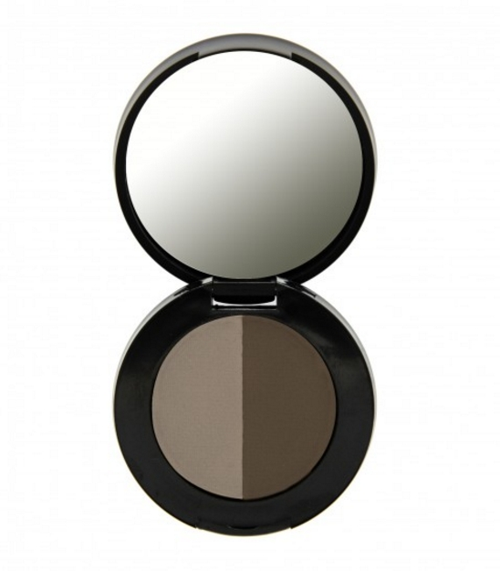 Freedom Duo Eyebrow powder za obrve - Medium Brown