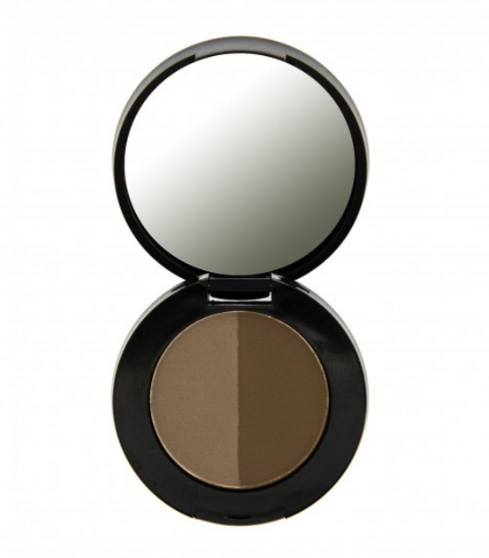 Freedom Duo Eyebrow powder za obrvi - Dark Brown