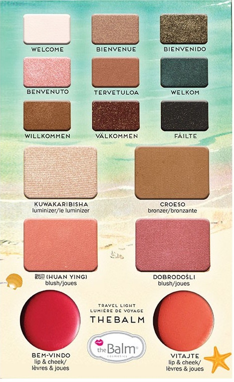 The Balm Palette - Balm Voyage Vol. 2