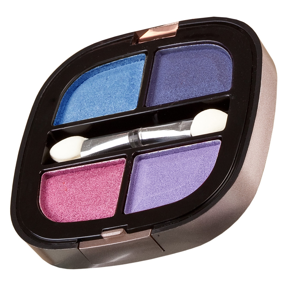 Nicka K Mini-Lidschatten-Palette - Quad Eye Shadow Sacramento NY074