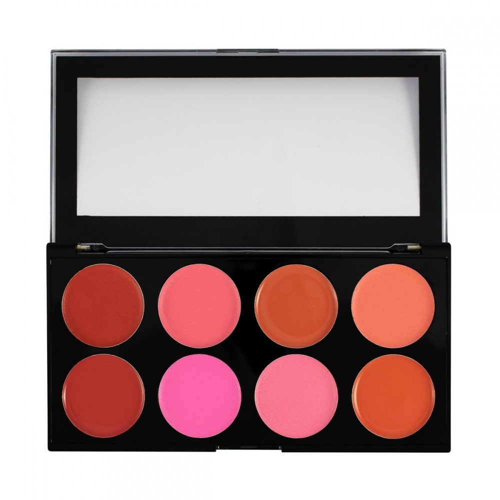 Makeup Revolution palette di blush in crema - Cream Blush Palette - Blush Melts