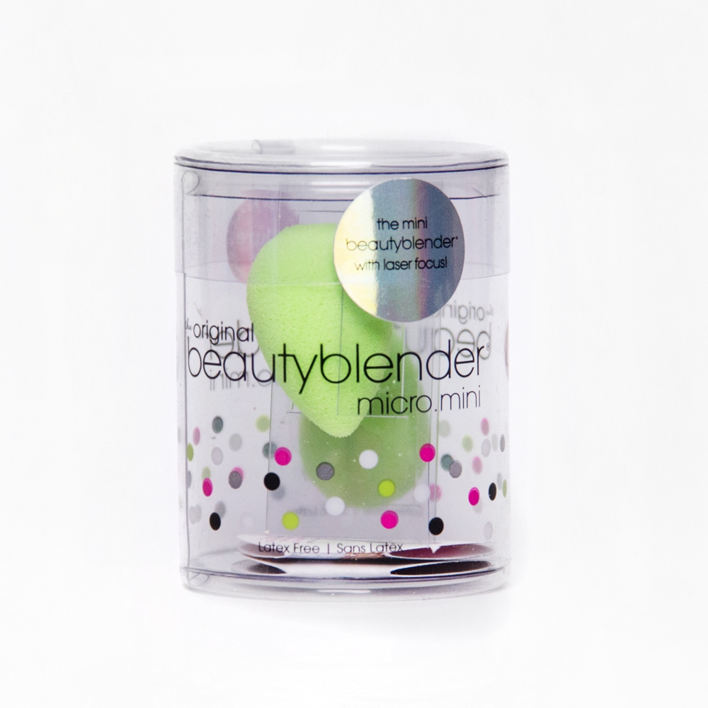 Beauty Blender due spugnette mini per l'applicazione e la sfumatura del trucco - micro.mini - 2 mini makeup sponges
