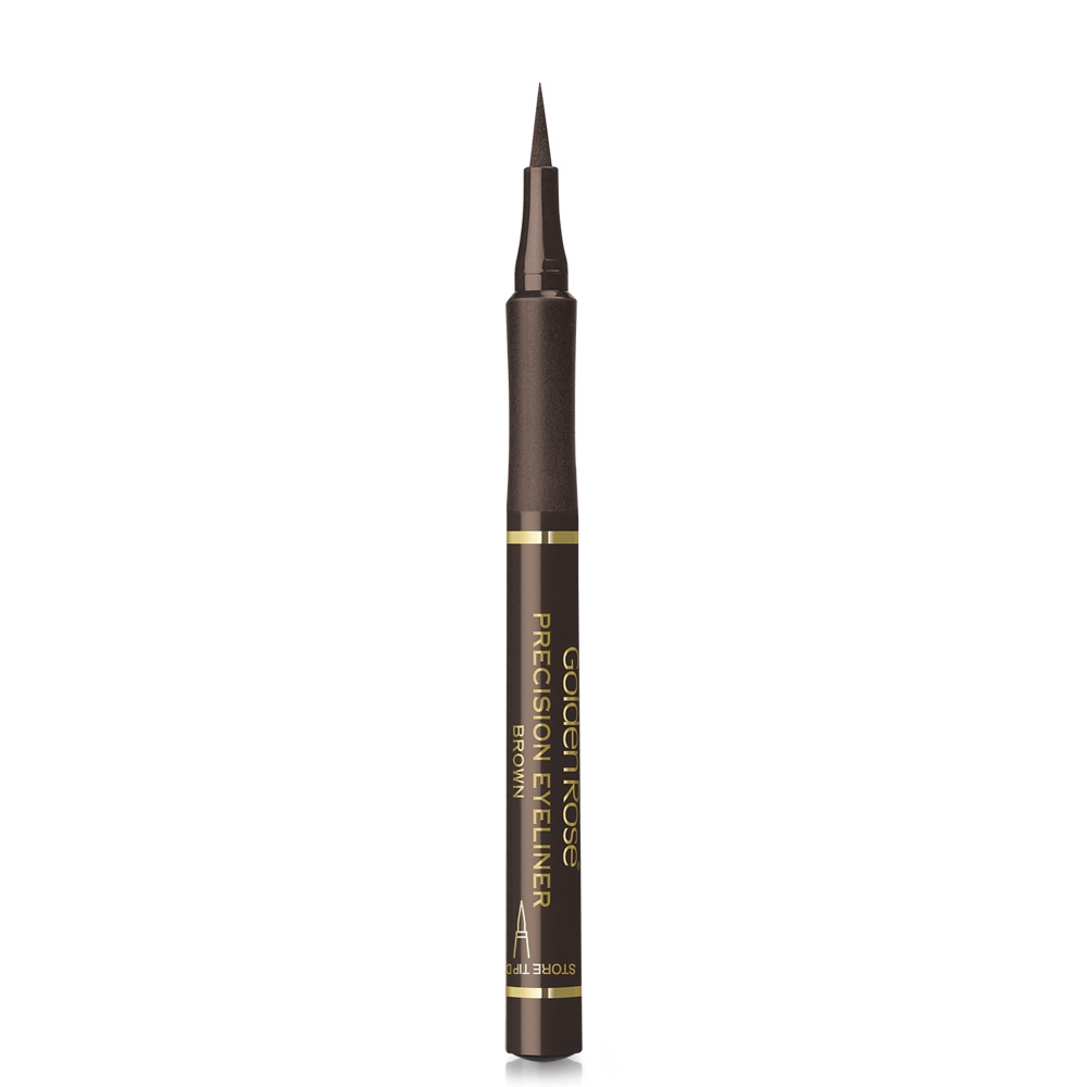 Golden Rose tuš za oči - Precision Eyeliner Brown