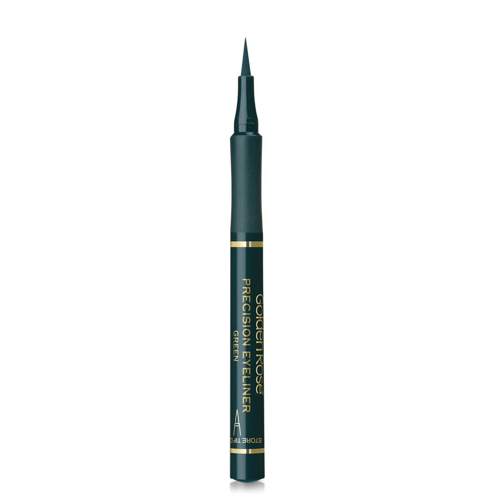 Golden Rose črtalo za oči - Precision Eyeliner Green