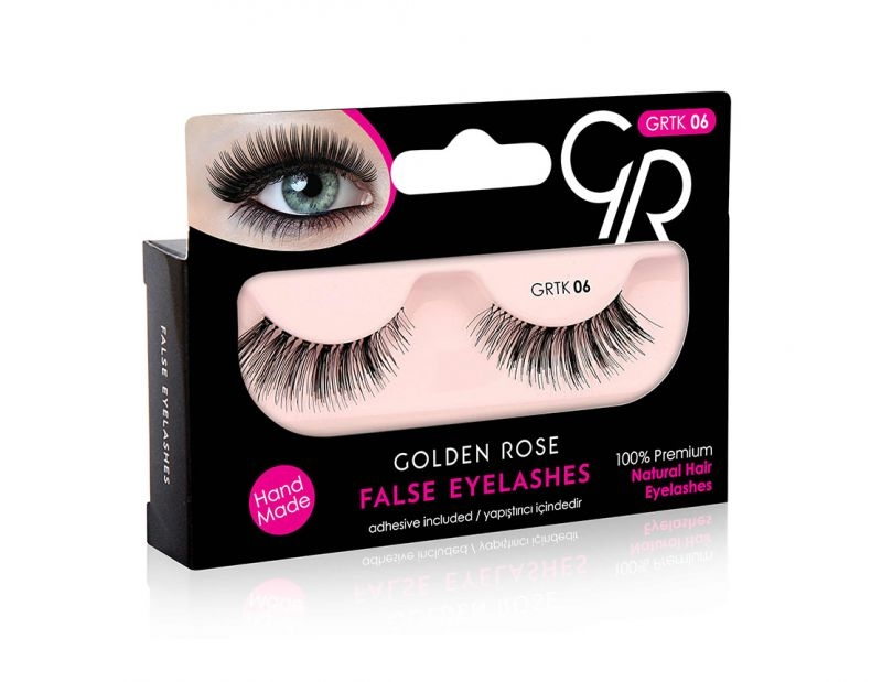 Golden Rose umjetne trepavice - False Eyelashes TK06